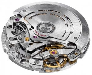 The intricate detail of Rolex Daytona movement