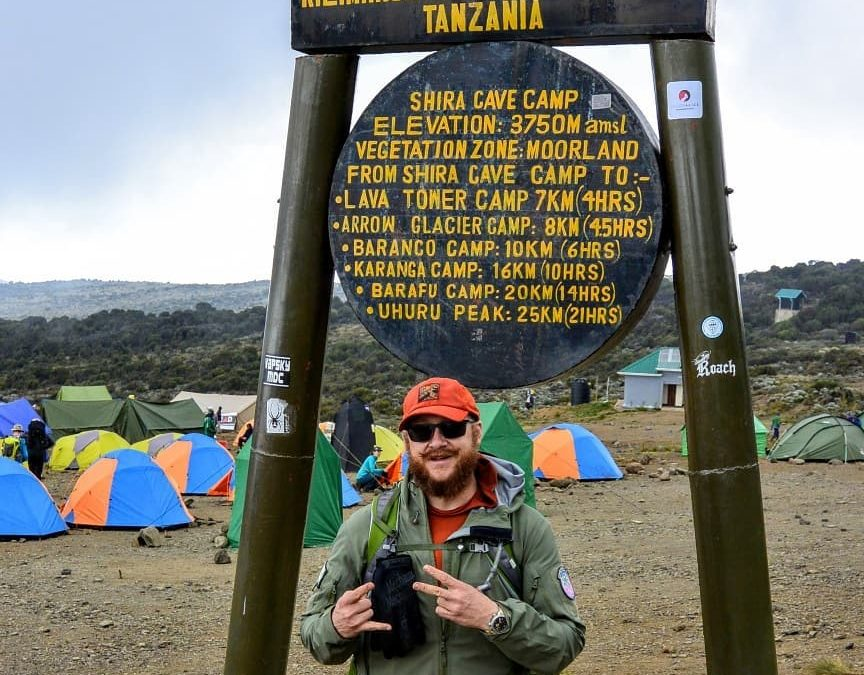 Field testing the Kalahari on Kilimanjaro
